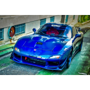 RX7 93-97 CW style Side skirts
